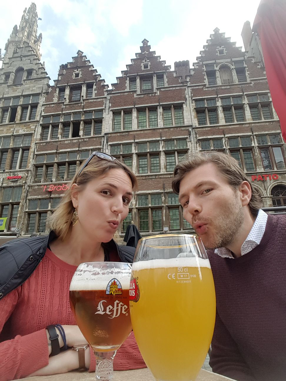 Leffe at Grote Markt